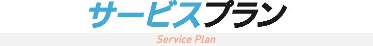 サービスプラン Service Plan